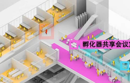 Urbanus 都市时间 城市 建筑 视频 电影 深圳 中国 Longgang Incubator Tower Architecture Animation Axo Axonometric 3D Rendering Explainer Video Presentation