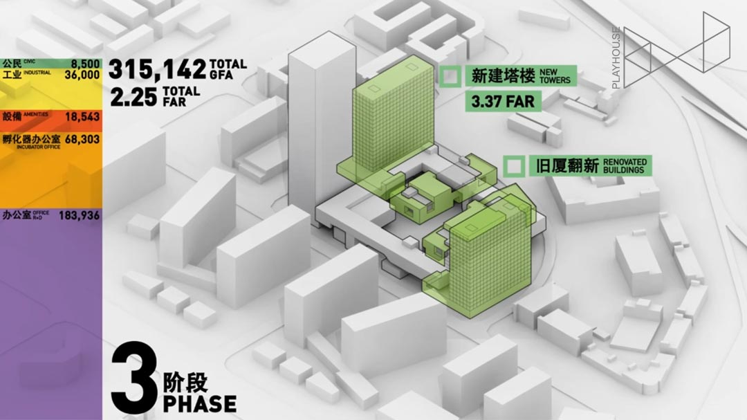 都市实践  建筑 视频 电影 深圳 中国 龙岗 shenzhen china longgang district multimedia design presentation architecture animation vfx timelapse 3D rendering visual storytelling architectural communications axonometric axo after effects Playhou.se Playhouse Urbanus